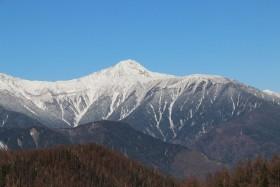 03桜峠からの北岳s