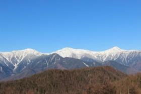 04桜峠からの白根三山s