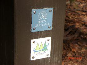 標識に貼付のプレート